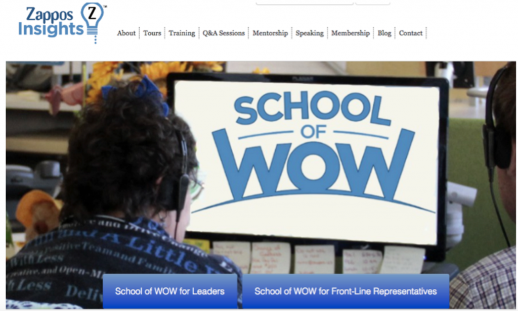 Zappos School of WoW