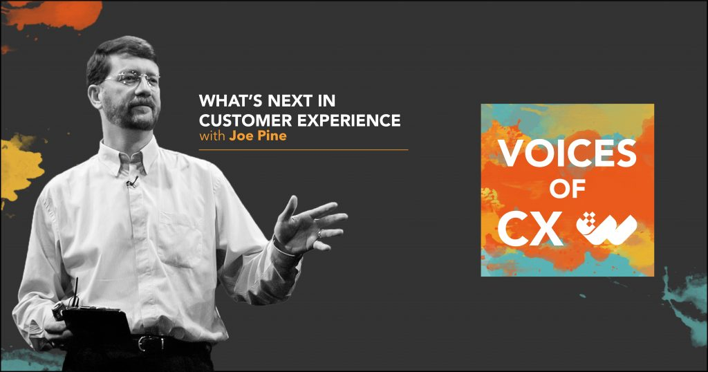 joe pine on the voices of cx podcast