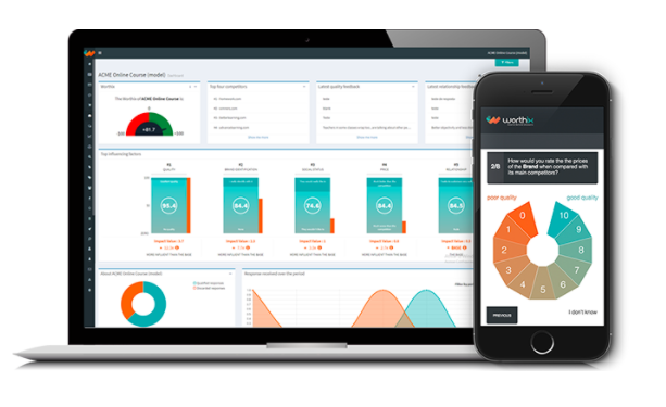 Customer Experience Worthix Survey and Dashboard
