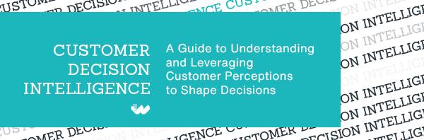 understand customer decisions